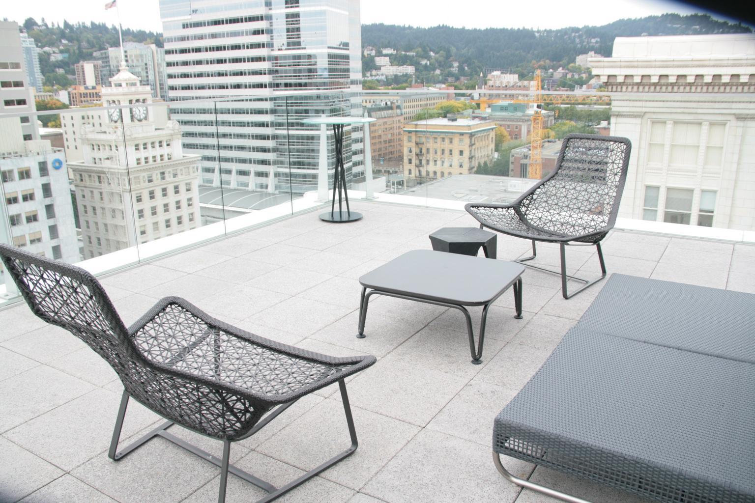 terasa, stoličky
