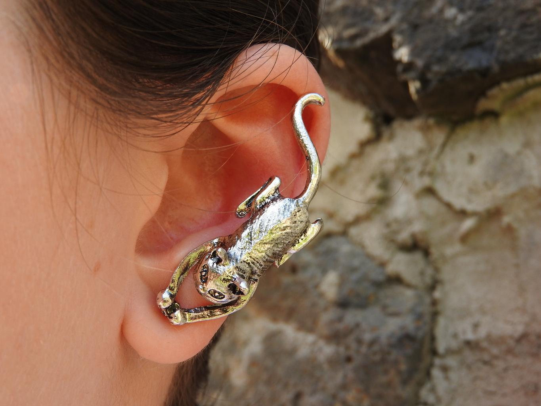 ucho, náušnica